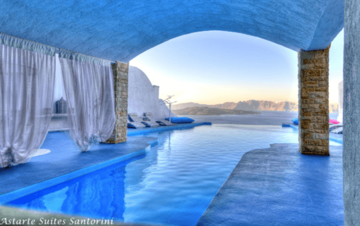 Astarte Suits Hotel, Greece
